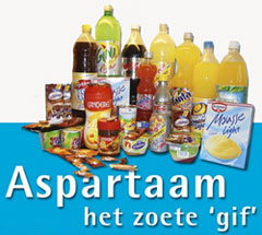 e-nummers Aspartaam